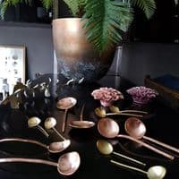 Brushed Copper Handcrafted Spoon